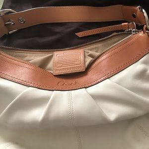 Coach Supple genuine leather hobo bag